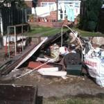 Garage Demolished and Removed